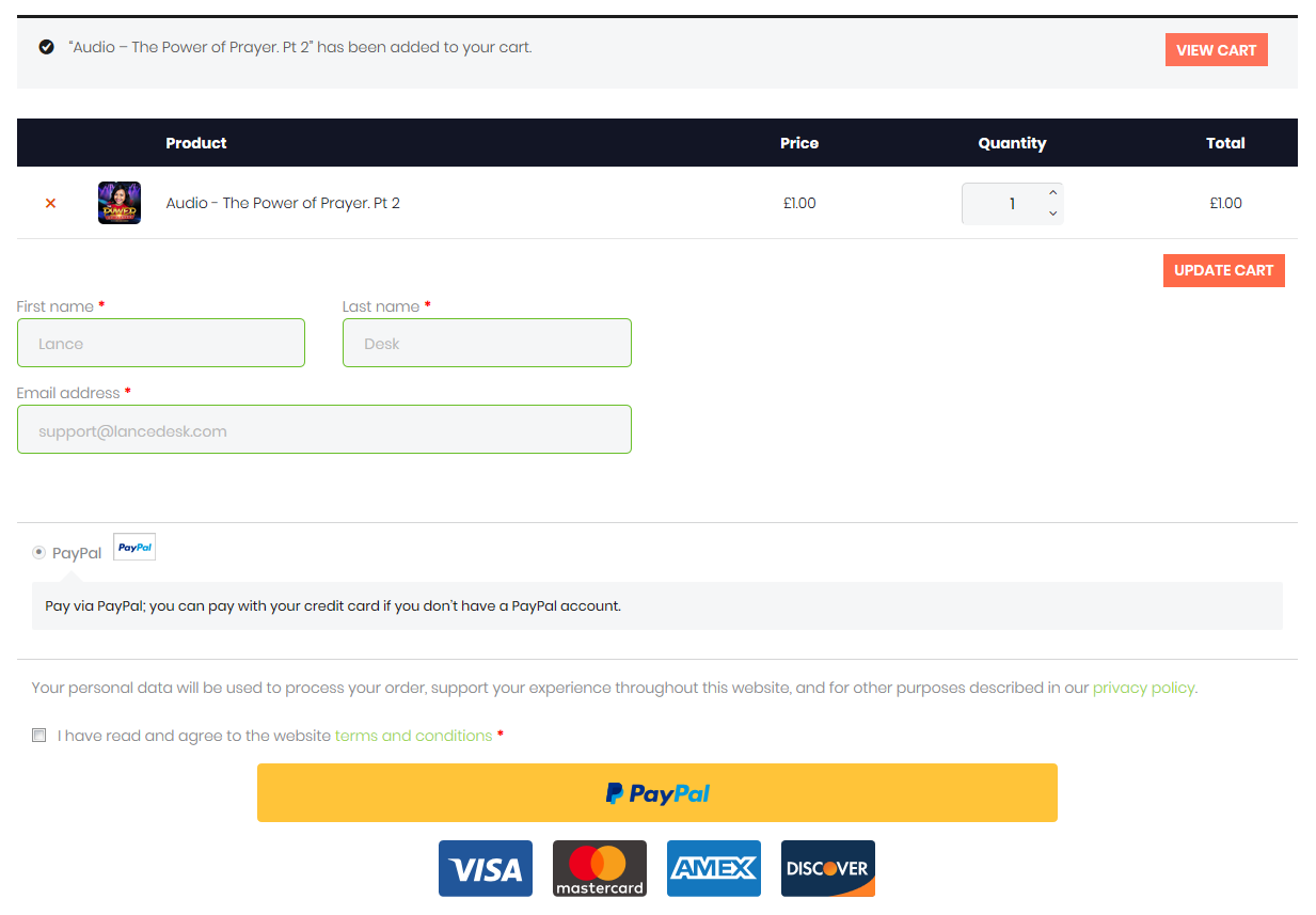 Creating The Simplest One-page WooCommerce Checkout
